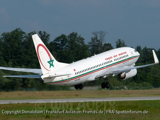 CN-ROD Royal Air Maroc Boeing 737-700