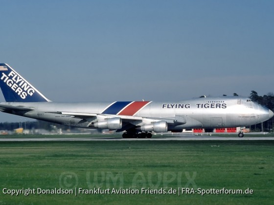 N810FT Flying Tigers Boeing 747-249F