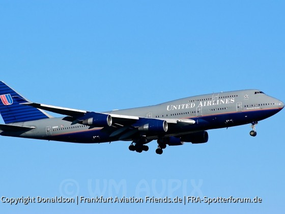 N180UA United Airlines Boeing 747-422