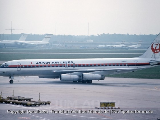 JA8037 Japan Air Lines Douglas DC-8-62