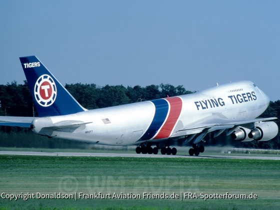 N812FT Flying Tigers Boeing 747-245F